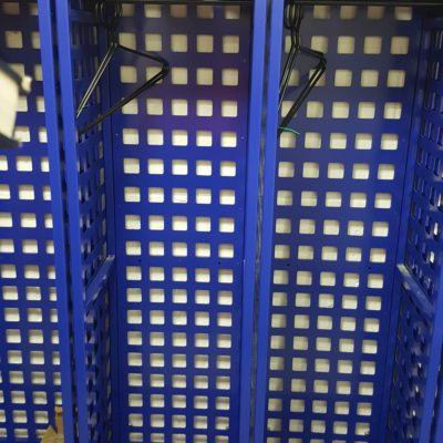 PPE Uniform Storage Hanging Racks