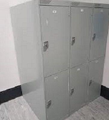 Folding Bike Storage Lockers