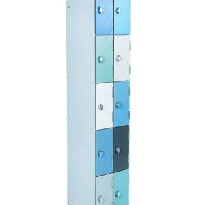 10 compartment Laminate door School Staff lockers