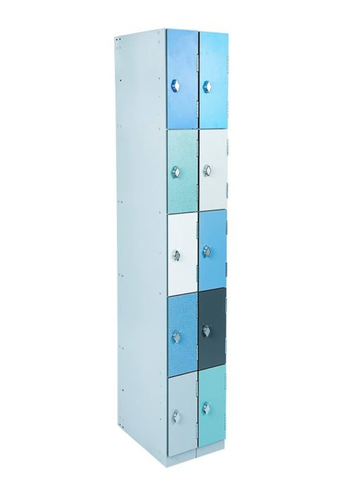 10 compartment Laminate door School Staff lockers