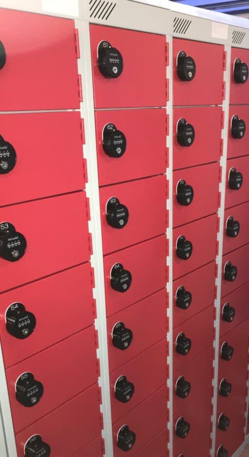 Lockers with Combination locks