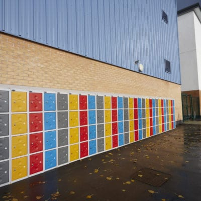 Outdoor Plastic lockers