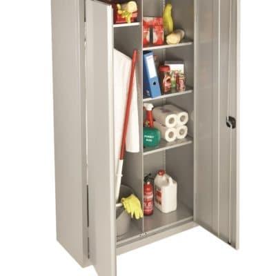 Probe Commercial Office Double Door Cleaners cupboard
