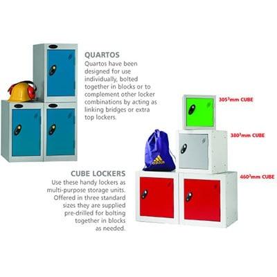 Probe Cube Quartos lockers