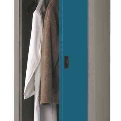 Probe Office Slim Wardrobe with shelf & Hanging Rail