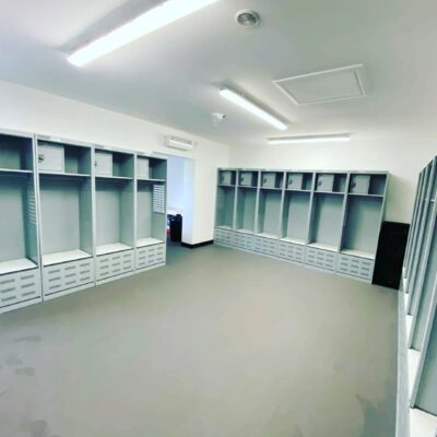 Stadium and Turnout Gear Lockers