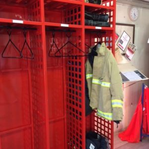 Fire & Rescue Turnout Gear storage Racks