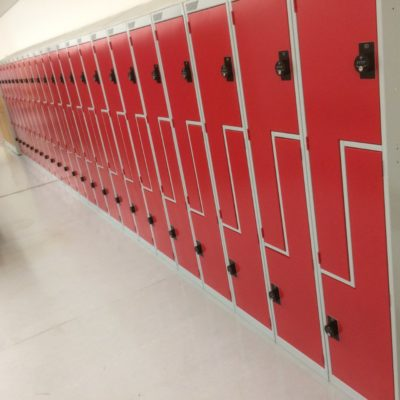 Z lockers with Steel Doors