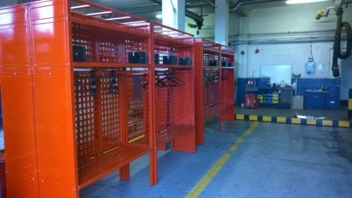 Extra Heavy Duty Multiple Firefighter turnout racks