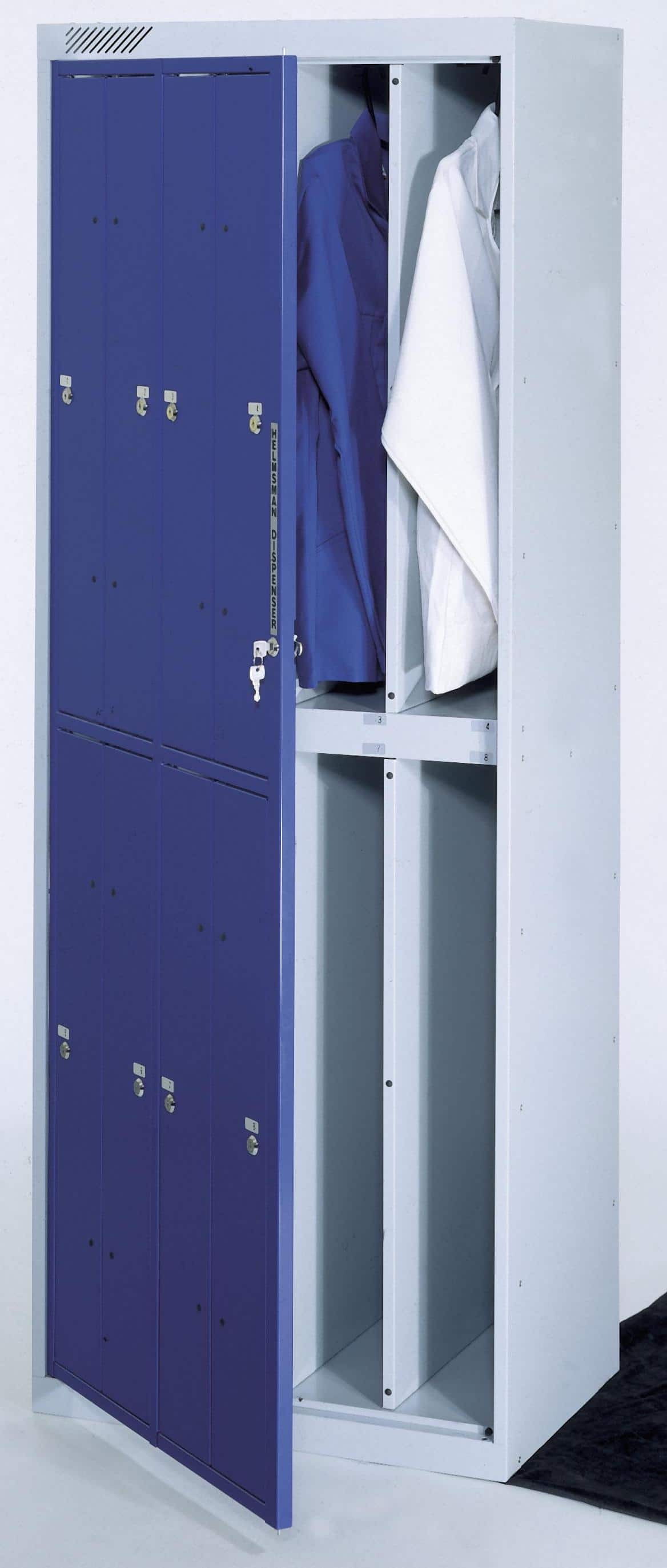 Garment Ppe Hanging Clothes Locker Lockers For Schools
