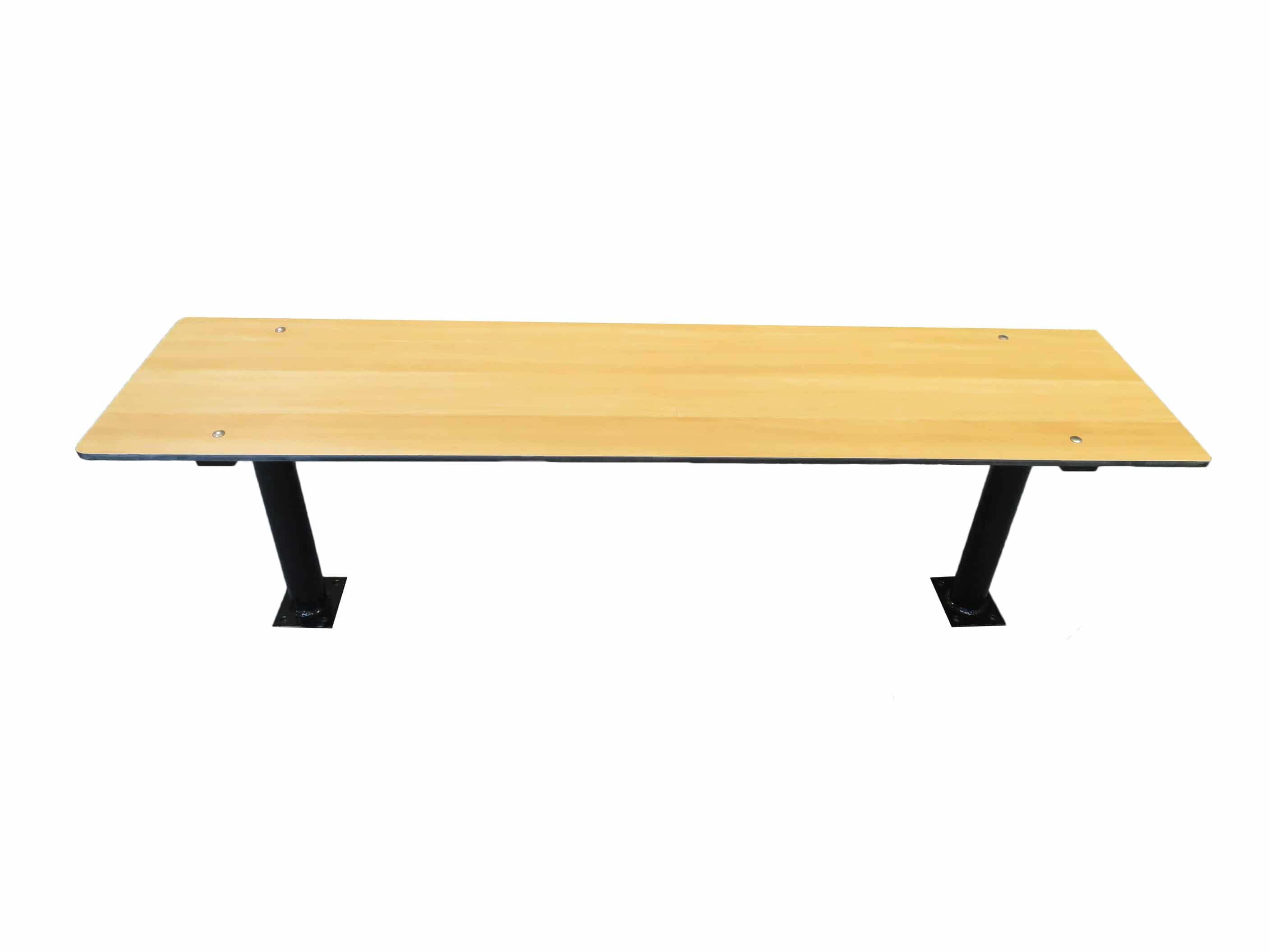 Pedestal changing room bench seating lockers for schools and leisure