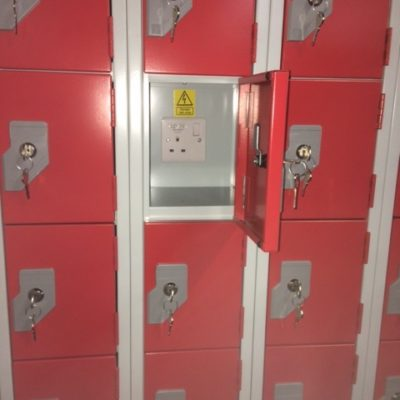 Phone charging lockers 5 to 40 compartments