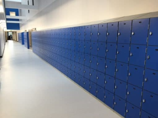 Heavy Duty Laminate Door School Lockers