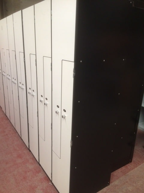 Z Locker with Laminate doors