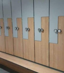 Z-Shape Lockers