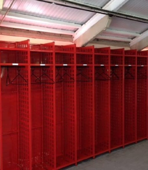 PPE Uniform storage hanging racks
