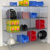 Mesh lockers