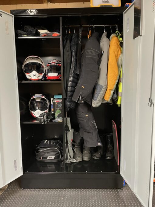 Motorcycle Kit storage Locker