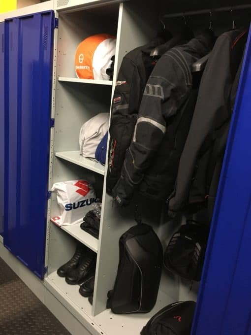 Motorcycle Kit Storage Lockers