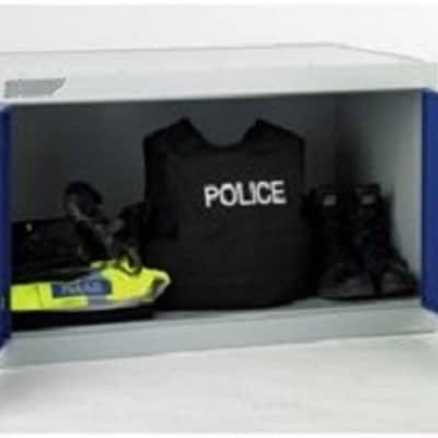 Police Kit Bag storage locker