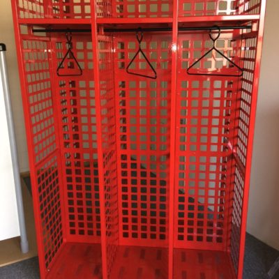 Mobile Turnout gear PPE Racks