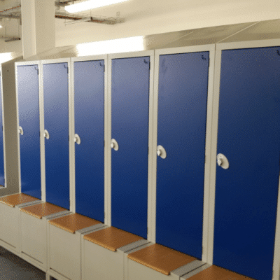 Staff Boot Seat Lockers