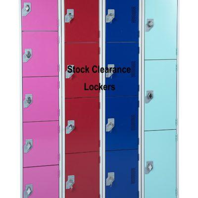 Stock Clearance lockers